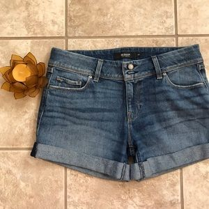 Hudson Los Angeles denim / jean shorts